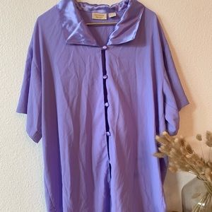 Vintage Victoria's Secret purple night gown.